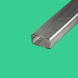 Tube rectangulaire inox 50x30 mm