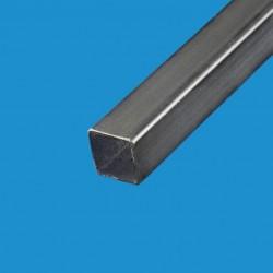 Tube acier carré noir 70 x 70mm