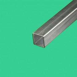Tube inox carré 25 x 25 mm