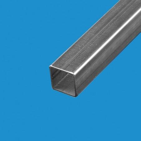 Tube carré acier 25mm