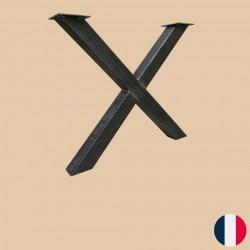 Pied acier X 71cm
